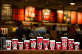 spirit halloween bakersfield the starbucks red holiday cup is back and surprise it u0027s actually