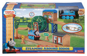 fisher price friends wooden railway steaming