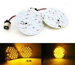 amber 1157 bulb led turn signal light drl blinker harley road king