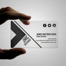 Standard Us Business Card Size Plastic Business Card Design Templates Print Peppermint