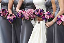 purple bouquets lilac bouquet ideas purple bouquets from real weddings inside