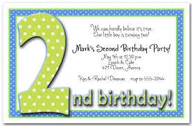 birthday invites latest 2nd birthday invitations design ideas 2nd