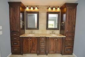 Bathroom Furniture White - bathroom furniture dual vessel sinks green antique white master