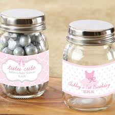 jar favors personalized ballerina baby shower mini jar favors