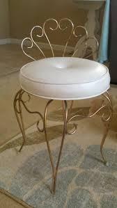 gold vanity stool home sweet heidi
