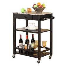marble top kitchen island cart andover mills jamestown kitchen cart with faux marble top