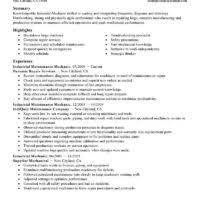 Heavy Equipment Mechanic Resume Examples by Impressive Entry Level Facility Mechanic Resume Sample For Helping