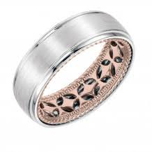 carved wedding band wedding bands caparo jewelers