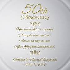 50th anniversary plate personalized holy union personalized 50th anniversary plate with gold