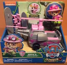 paw patrol skye copter jungle rescue helicopter toys figure