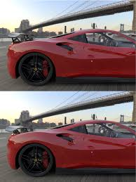 ferrari coupe rear dmc orso carbon fiber body kit for the ferrari 488