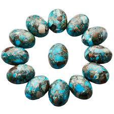light blue semi precious stone online shop sunyik 1lot 5pc light blue sea sediment jasper oval