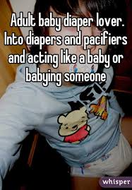 Baby Diaper Meme - adult baby diaper lover into diapers and pacifiers and acting like