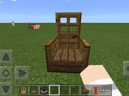 how to make a chair you can sit in on minecraft snapguide