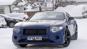 bentley 2018 2018 bentley continental gt spy photos motor1 com photos