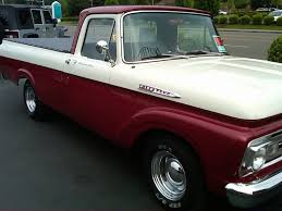 1962 ford f100 unibody pickup love the paint scheme on this one