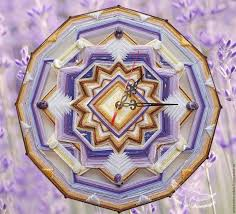 buy clock wall provence the original mandala