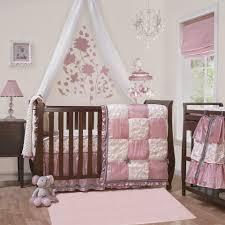baby basics pink 4 piece crib bedding by zz bedding queen