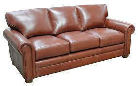 Omnia Leather Sofa Sofa Omnia Leather
