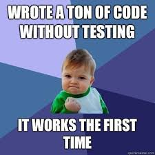 The First Meme - 19 funniest computer programming memes wyncode academy
