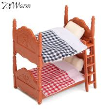accessoire canapé 1 set canapé mini fluctuation lit accessoire maison de poupée