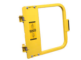 Self Closing Stair Gate by Single Self Closing Safety Gate Cai Safety Systems Fall Protection