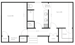 4 br house plans 4 bedroom house plans with jack and jill bathroom lkc1 club
