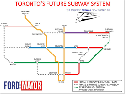 Toronto Subway Map A History Of Toronto Transit Dreams As Told In Maps