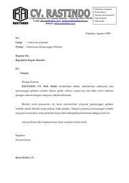 contoh surat penawaran kerjasama contohsuratmu