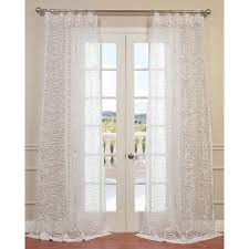 Single Panel Window Curtain Designs 24 Best Pattern U0026 Embroidered Sheers Images On Pinterest Sheer
