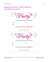 home party plans avon home party plan february 2015