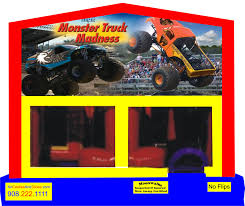monster jam truck theme songs monster truck madness obstacle combos tall slides secret