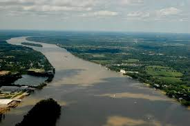 Ohio rivers images Drawing a line in the riverbed moment of indiana history jpg