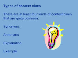all worksheets context clues synonyms and antonyms worksheets