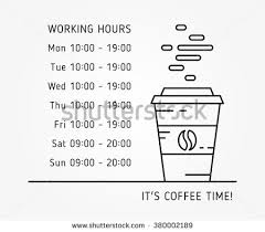 promotion coffee shop vector template special stock vector