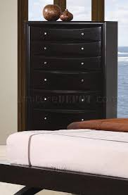 Leather Upholstered Bed Finish Modern Bedroom W Faux Leather Upholstered Bed