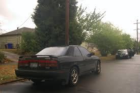 mazda mx6 old parked cars 1989 mazda mx 6 gt