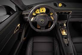 porsche 911 interior 2015 porsche 911 turbo s stinger gtr carbon edition by topcar