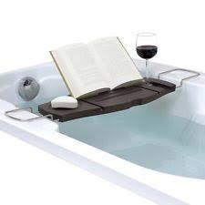 umbra aquala bathtub caddy umbra bamboo bath bathtub caddies storage equipment ebay