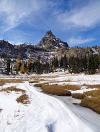 Rock Slides Will Remain Common Because Of The Significant Snowpack The Teanaways Have Tent Will Travel