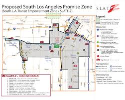 Map Of Ucla Promise Zone Application Brings Together South L A Community