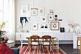 danish dining room table artsitic white pendant lamp mixed scandinavian dining room room