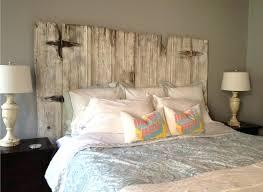 Rustic Wood Headboard Wood Headboard Reuse Of Doors Wood Bookcase Headboard