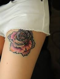 45 best thigh tattoos images on pinterest black tattoo ideas