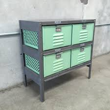 Metal Locker Nightstand Industrial Metal Locker Drawers U2013 Urbanamericana