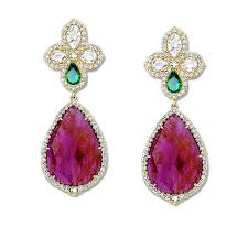 artificial earrings buy artificial jewellery online india at sneha rateria