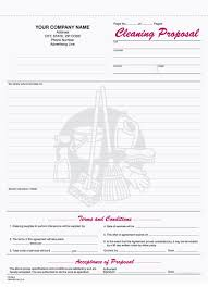 9 best images of free printable cleaning business forms cleaning