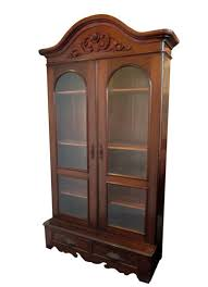 Arched Bookcase Bookcases Archives Wooden Nickel Antiques