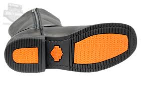 mens harley riding boots 95353 harley davidson mens hustin waterproof black high cut
