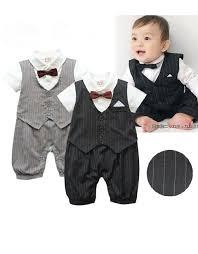 baby boy formal suit romper black australia baby tots shoes